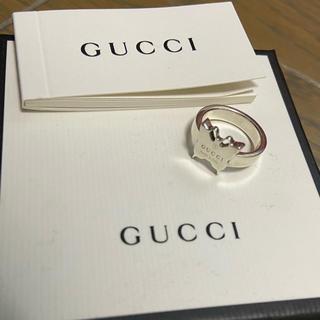 グッチ(Gucci)のGUCCI リング グッチ 指輪 バタフライ 蝶々 7号 美品(リング(指輪))