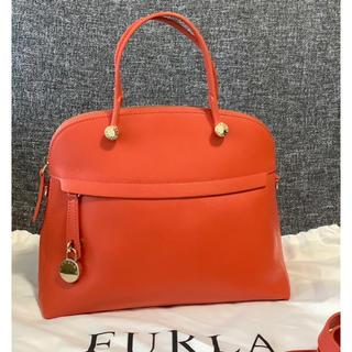 Furla - 【未使用】♡FURLA フルラ パイパー♡オレンジ系