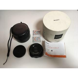 ソニー(SONY)のSONY レンズスタイルカメラ DSC-QX10(コンパクトデジタルカメラ)