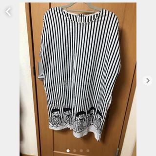 グラニフ(Design Tshirts Store graniph)のgraniph おそ松さん おそ松くん ワンピース(ひざ丈ワンピース)