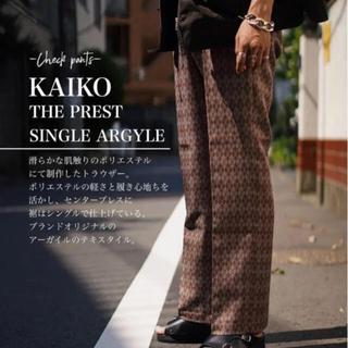 Needles - KAIKO/THE PREST SINGLE ARGYLE/