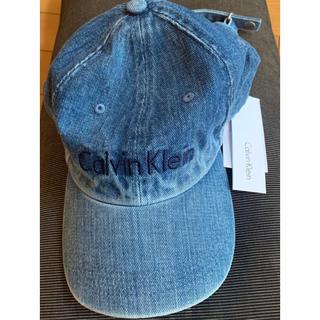 Calvin Klein - CK カルバンクライン インディゴ キャップ