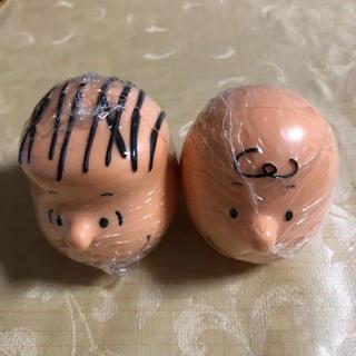 バンダイ(BANDAI)のカプキャラ  チャーリー・ブラウン & ライナス(その他)