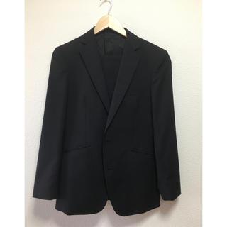 オリヒカ(ORIHICA)のブラック スーツ セットアップ Y5(セットアップ)