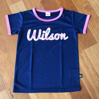 ウィルソン(wilson)の【新品】140 Wilson ウィルソン トップス Tシャツ 半袖(Tシャツ/カットソー)
