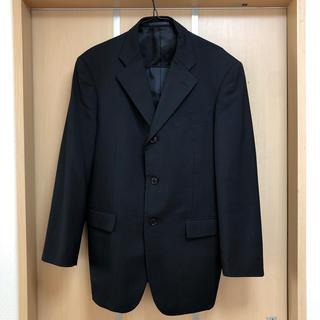 スーツの上着のみ A6サイズ 夏物 黒色(スーツジャケット)