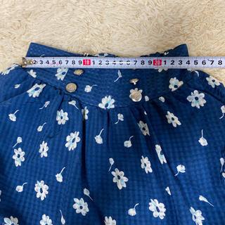 オリンカリ(OLLINKARI)のOLLINKNRI チュニックスカート 130cm 花柄(スカート)