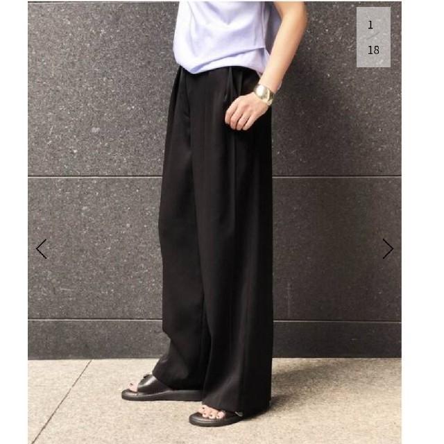 DEUXIEME CLASSE(ドゥーズィエムクラス)のドゥーズィエムクラス tuck パンツ レディースのパンツ(カジュアルパンツ)の商品写真