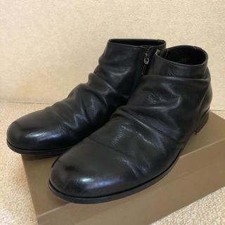 パドローネ(PADRONE)のパドローネ 牛革ブラック サイズ43(ブーツ)