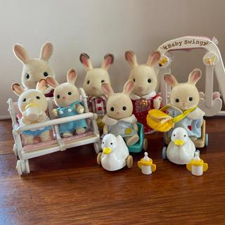 シルバニアファミリー ウサギのビッグな家族