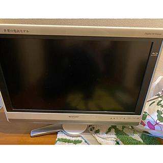 SHARP - SHARP 液晶テレビ 26v  ホワイト