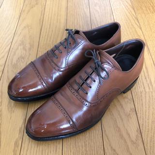 チャーチ(Church's)の革靴 GRENSON ブラウン 25.5cm(ドレス/ビジネス)