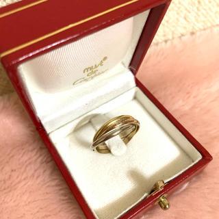 カルティエ(Cartier)の美品✨Cartier カルティエ✨トリニティ リング k18 750✨54(リング(指輪))