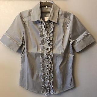 ナラカミーチェ(NARACAMICIE)のナラカミーチェ 半袖 ブラウス 新品未使用 タグ付き(シャツ/ブラウス(半袖/袖なし))