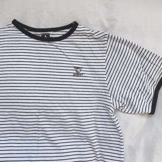 merlot - メルロー ボーダーTシャツ