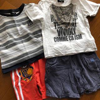 コムサイズム(COMME CA ISM)のCOMME CA ISM Tシャツパンツ4点セット90㎝95㎝(Tシャツ/カットソー)