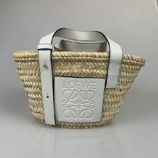 LOEWE - ロエベ Sサイズ ホワイト Loewe カゴバッグ