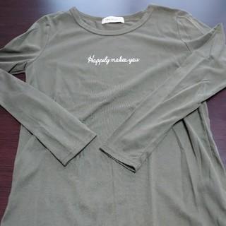 シマムラ(しまむら)のロンT カーキ(Tシャツ(長袖/七分))
