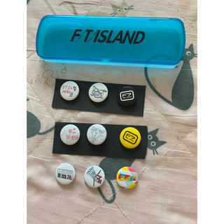 エフティーアイランド(FTISLAND)のftisland 缶バッジ #筆箱(K-POP/アジア)