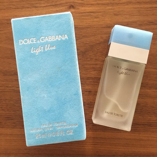 DOLCE&GABBANA - ドルチェ&ガッバーナ ライトブルー オードトワレ25ml