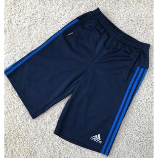 adidas - 【adidas】ジュニア 男子 ハーフパンツ160cm ブルーライン