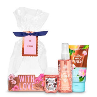 Bath & Body Works - Pretty As A Peach Gift Set