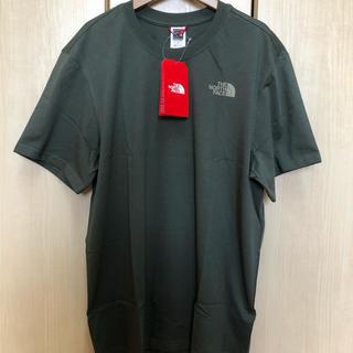THE NORTH FACE - 新品 ノースフェイス レッドボックス Tシャツ カーキ メンズL