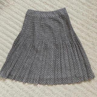 エニィスィス(anySiS)のany sis 膝丈スカート  美品(ひざ丈スカート)