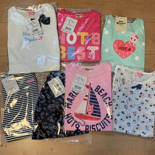 ホットビスケッツ(HOT BISCUITS)の新品☆110ホットビスケッツ サマーパック☆ミキハウス  福袋 夏物 2020(Tシャツ/カットソー)