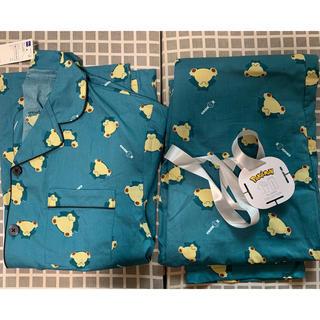 ジーユー(GU)のGU パジャマ(半袖)POKEMON ICY2 Mサイズ カビゴン(その他)