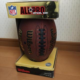 ウィルソン(wilson)のNFL ALL PRO Wilson official ball フットボール(アメリカンフットボール)
