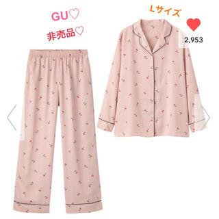 GU - 5/25まで値下げ♡GU♡ジーユー♡パジャマ♡チェリー柄