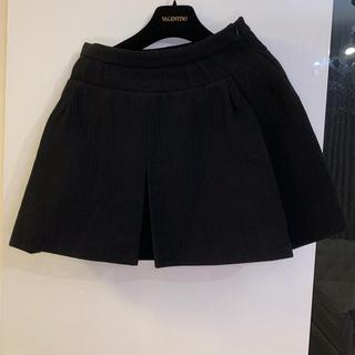 バレンシアガ(Balenciaga)のバレンシアガ ブラックミニスカート size36(ミニスカート)