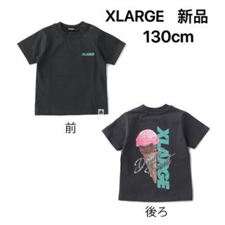XLARGE - XLARGE KIDS バックアイスクリームプリント半袖Tシャツ