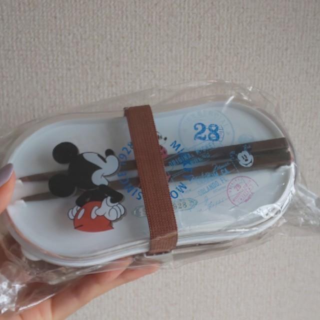 Disney(ディズニー)のディズニー ミッキー ミニー お弁当箱 おひとつ888円 エンタメ/ホビーのおもちゃ/ぬいぐるみ(キャラクターグッズ)の商品写真