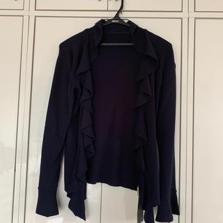 アラミス(Aramis)のジャケット フリル カーディガン ARAMIS 新品タグ付き(カーディガン)