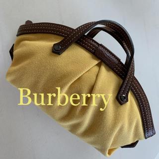BURBERRY BLUE LABEL - Burberry  バーバリー ミニミニ バッグ イエロー