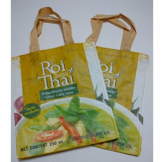 カルディ(KALDI)のRoi Thai ロイタイ エコバッグ カルディ 非売品(ノベルティグッズ)