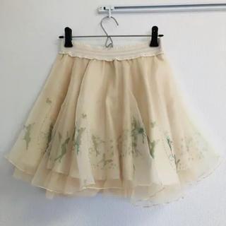 シークレットハニー(Secret Honey)の【値下げ中】未使用 シークレットハニー スカート 「ピータパン」ティンカーベル(ミニスカート)