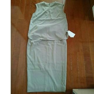 ミラオーウェン(Mila Owen)のMila Owen  セットアップスカート 今季 新品未使用(セット/コーデ)