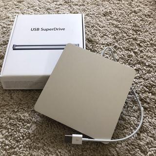 マック(Mac (Apple))の【j-bayさん専用】Apple USB SuperDrive純正品(PC周辺機器)