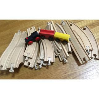 IKEA - IKEA LILLABO 木の電車 レールセット