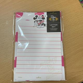 ディズニー(Disney)のミッキー&ミニー レターセット(カード/レター/ラッピング)