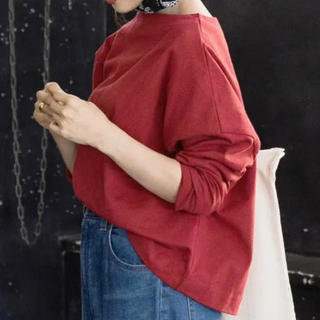 コウベレタス(神戸レタス)のKOBE LETTUCE ヘビーウェイトカットソーボートネックロンTプルオーバー(カットソー(長袖/七分))