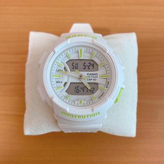 ベビージー(Baby-G)のBABY-G    BGA-240BC-7AJF  ホワイト/グリーン(腕時計)