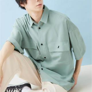 カンゴール(KANGOL)のKANGOL 半袖CPOシャツ(シャツ/ブラウス(半袖/袖なし))