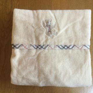 バーバリー(BURBERRY)のバーバリー ベビー用 綿毛布(毛布)