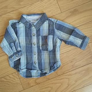 babyGAP - babyGap長袖チェックシャツ