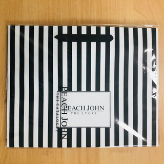 PEACH JOHN - ピーチジョン ショッパー ショップ袋 M