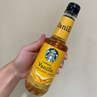 スターバックスコーヒー(Starbucks Coffee)の新品 スタバ シロップ バニラ(コーヒー)